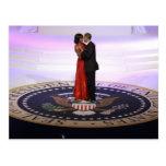 Barack y Michelle Obama Tarjetas Postales