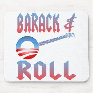 Barack y rollo Mousepad