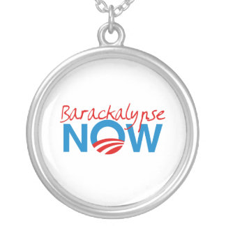 Barackalypse ahora colgante redondo