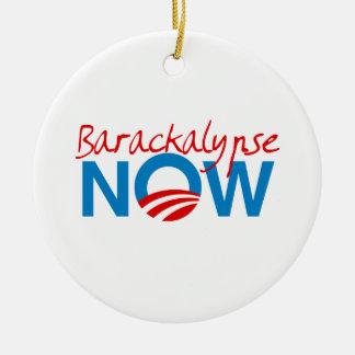 Barackalypse Now Christmas Ornament