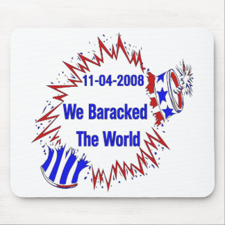 Baracked el mundo tapete de ratones