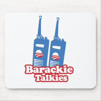 BARACKIE TALKIES -.png Mouse Pad