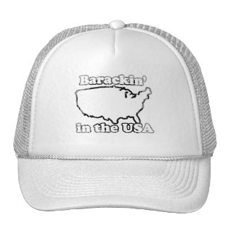 Barackin in the usa Faded.png Mesh Hat