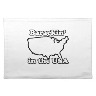 BARACKIN IN THE USA -.png Cloth Place Mat