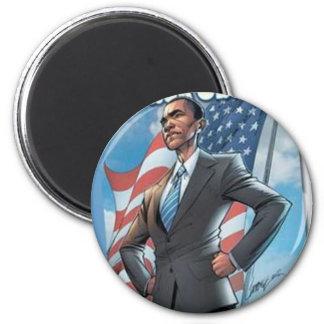 BarackObama Comics 2 Inch Round Magnet