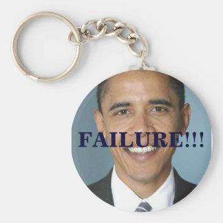 BarackObama, FAILURE!!! Basic Round Button Keychain