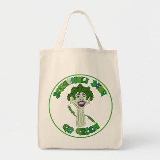 Barackoli Bama Organic Grocery Bag Go Green!
