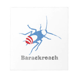 BARACKROACH Faded.png Memo Note Pad