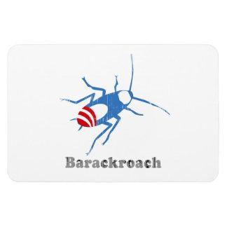 BARACKROACH Faded png Vinyl Magnet