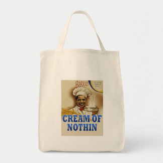 Barack's Cream of Nothin E.F. Grocery Tote Bag
