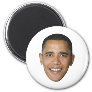 Barack's Face 2 Inch Round Magnet