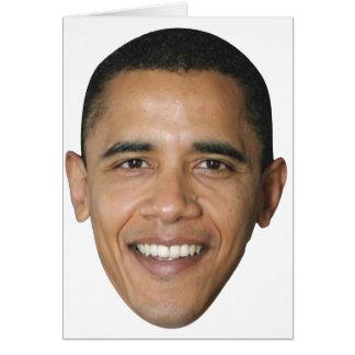 Barack's Face Card