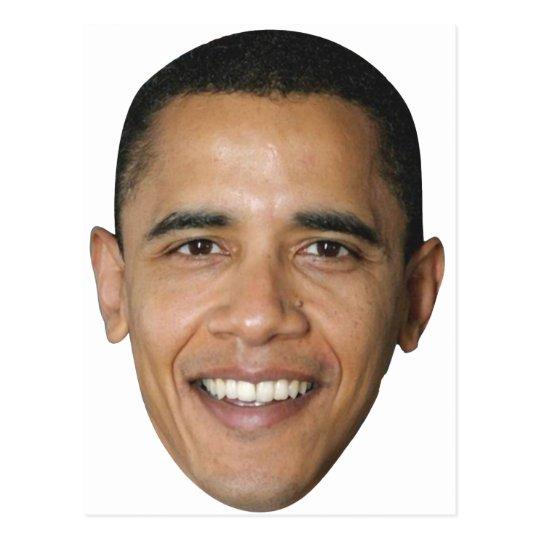 Barack's Face Postcard