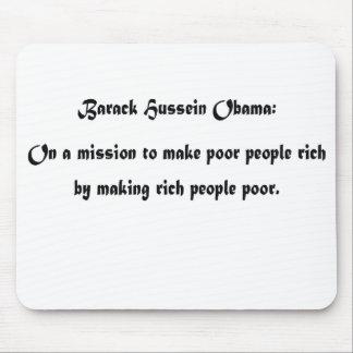 Barack's Mission Mouse Pad