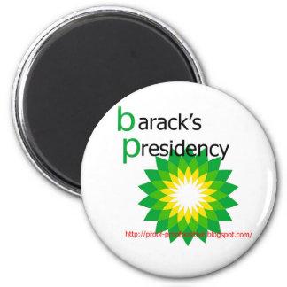barack's-presidencia imán de frigorífico