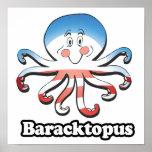 BARACKTOPUS - .png Poster