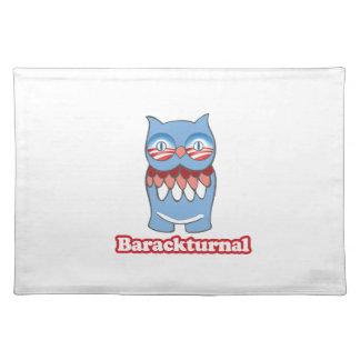 BARACKTURNAL -.png Cloth Place Mat