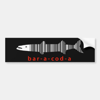 Baracoda, Barracuda Bumper Sticker