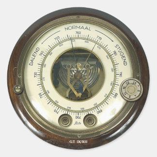 Baraethiometer Sticker de profesor Temple s Pegatinas Redondas