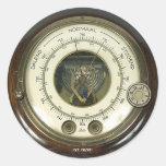 Baraethiometer Sticker de profesor Temple's Pegatinas Redondas