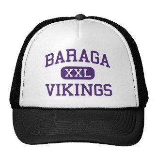Baraga - Vikingos - área - Baraga Michigan Gorros Bordados