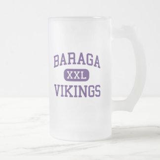 Baraga - Vikingos - área - Baraga Michigan Tazas