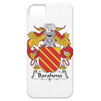 Barahona Family Crest iPhone 5 Cover