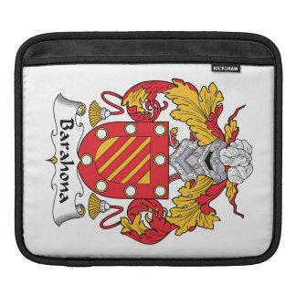 Barahona Family Crest iPad Sleeve