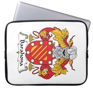 Barahona Family Crest Laptop Computer Sleeve