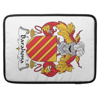 Barahona Family Crest MacBook Pro Sleeve