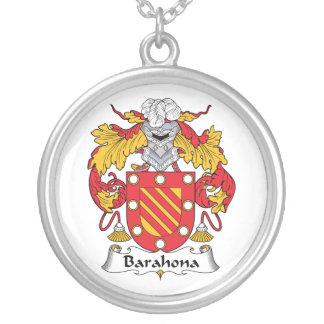 Barahona Family Crest Necklaces