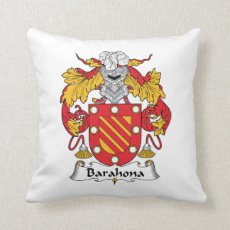Barahona Family Crest Pillows
