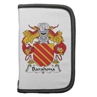 Barahona Family Crest Folio Planner