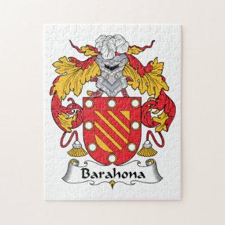 Barahona Family Crest Jigsaw Puzzle