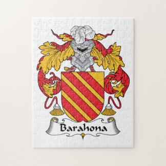 Barahona Family Crest Jigsaw Puzzles