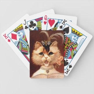 Baraja antropomorfa del gato de la sala del Victor