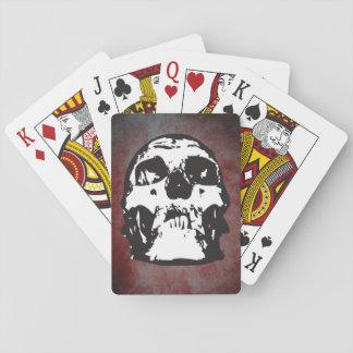 Baraja esquelética baraja de cartas