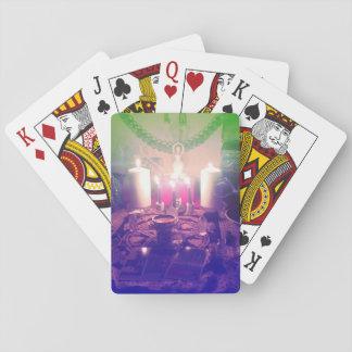 Baraja pagana del altar baraja de póquer