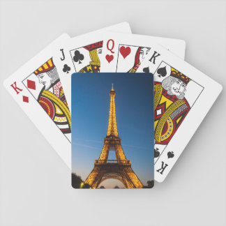 Barajas París - Torre Eiffel #1 Naipes