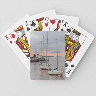 Barajas Puerto deportivo y Barcos #2 Baraja De Póquer