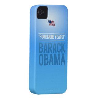 Barak Obama - cuatro más caso del iPhone 4S de los iPhone 4 Funda