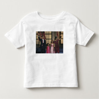 Barak Obama family wave at the last night of Toddler T-shirt
