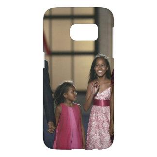Barak Obama family wave Samsung Galaxy S7 Case