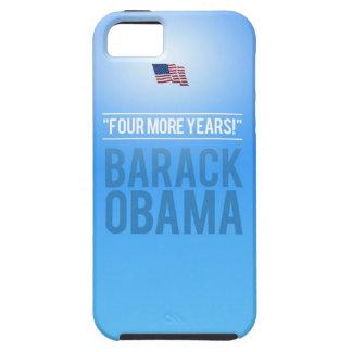 Barak Obama - Four More Years iPhone 5 Case