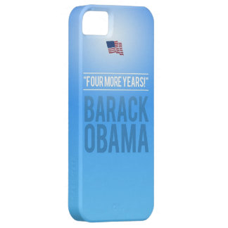 Barak Obama - Four More Years iPhone 5S Case