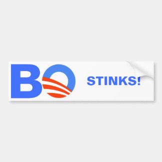 ¡Barak Obama, HEDORES! Pegatina Para Auto