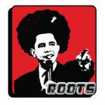 Barak Obama Roots Statuette