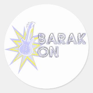 BARAK ON STICKERS