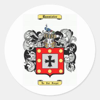 Barandilla Pegatina Redonda