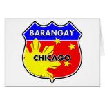 Barangay Chicago Greeting Card
